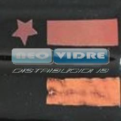 PAPEL DICRO CIAN FUERTE Y ROJO 20x20cm