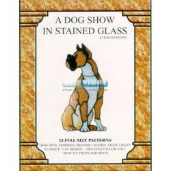 LIBRO A DOG SHOW IN STAINED GLASS