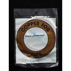 COPPER FOIL 1/4 (6,4 MM) NEGRO  33 metro