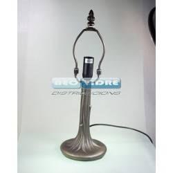 PIE LAMPARA ZINC 302 ARBOL 32/19cm