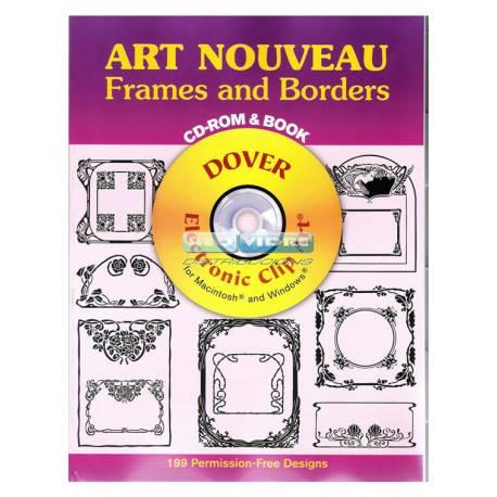LIBRO ART NOUVEAU FRAMES CD-ROM - Neovidre
