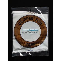 COPPER FOIL 1/4 (6,4 MM) PLATA  33 metro