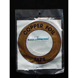 COPPER FOIL 3/8 (9.5 mm) NEGRO 33 metros