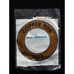 COPPER FOIL 9/64 (3.6 mm)  NEGRO 33 metr