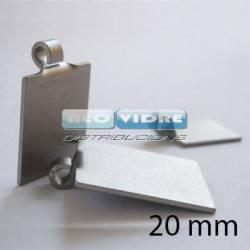 COLGANTE CARACOL 20 x 20mm ( 10 ud )