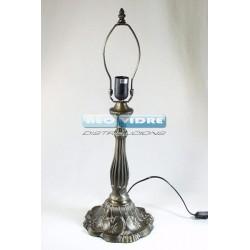 PIE LAMPARA ZINC 305 lILLY 59/38cm
