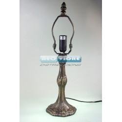 PIE LAMPARA ZINC 308 POMPEJI 35/22cm