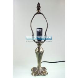 PIE LAMPARA ZINC 345S KLEEBLATT 28/15cm