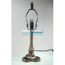 PIE LAMPARA ZINC 333 SILVERADO 34/20cm