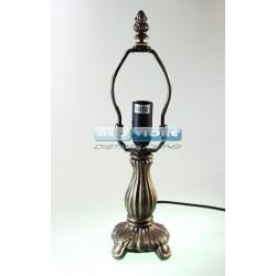 PIE LAMPARA ZINC 328 BIJOU 28/4 cm