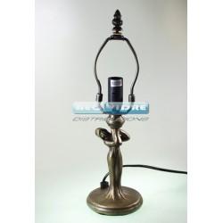 PIE LAMPARA ZINC 520S MONA 31/18cm