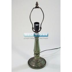 PIE LAMPARA ZINC H321 FLORI 47/29cm